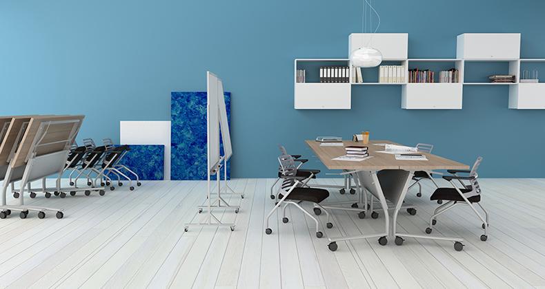 El color ideal para una oficina soa for Fotos de oficinas pequenas modernas