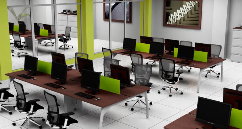 Espacios de trabajo adaptados a la oficina soa for Espacios de oficina